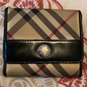 Authentic Burberry Tri-Fold Wallet